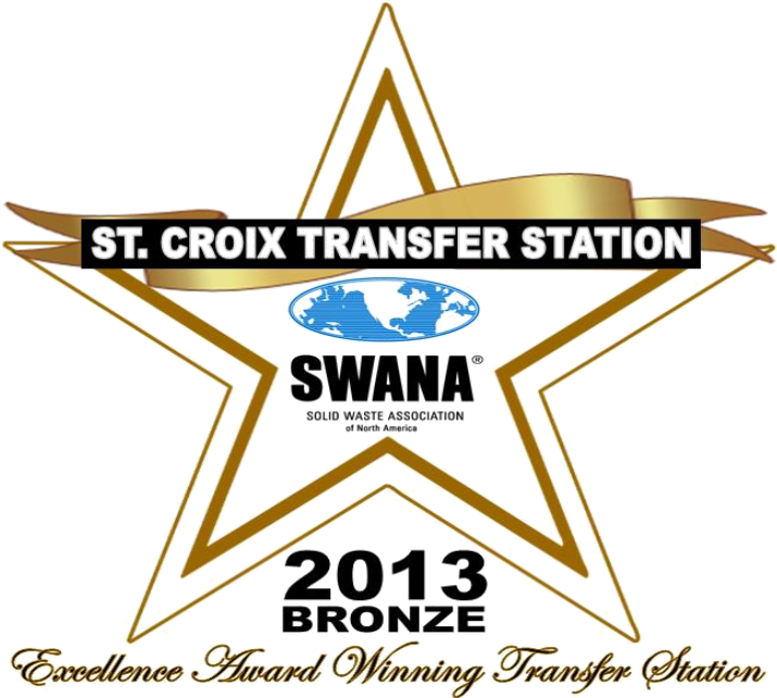 St. Croix Transfer Station SWANA Bronze Award